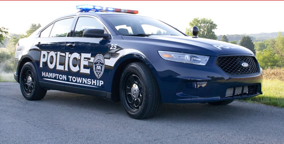 Hampton Township Police Interceptor